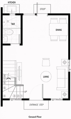 frielle house ground floor plan