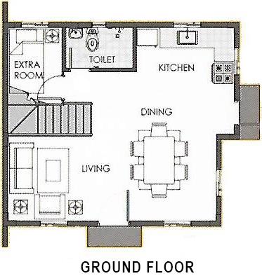 camella carson dana ground floor plan
