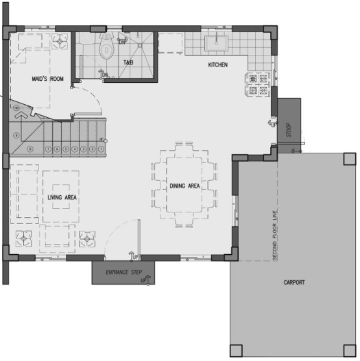 camella homes dani ground floor plan