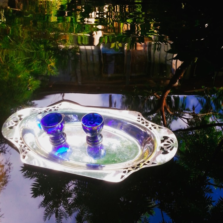 Floating Tea in the Camellia Pond