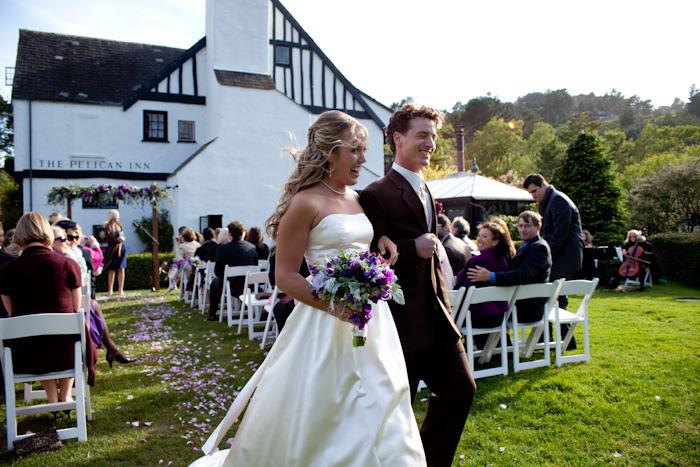 A California Wedding: The Pelican Inn in Muir Woods