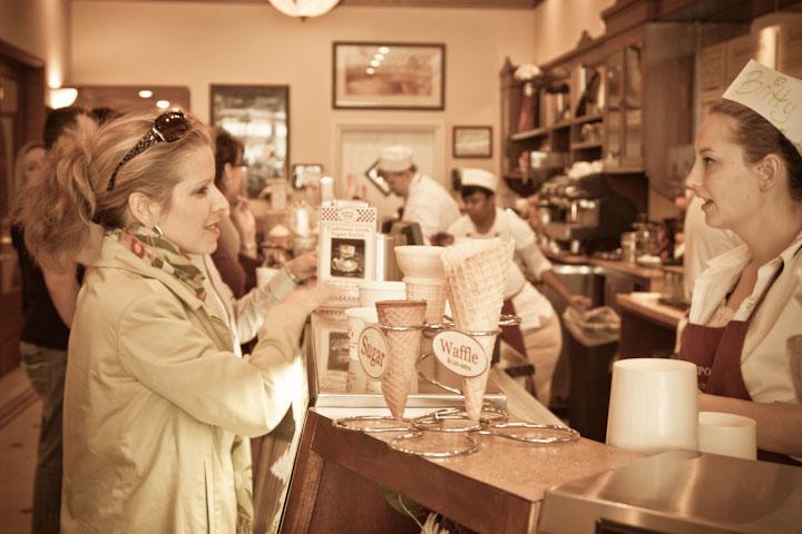 Leopold's Ice Cream in Savannah