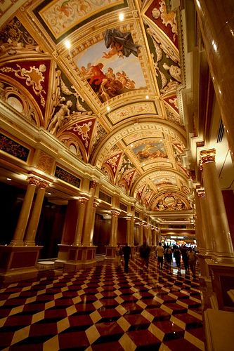 interior of Venetian