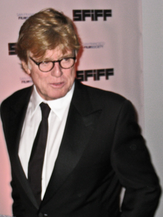 Robert Redford in San Francisco