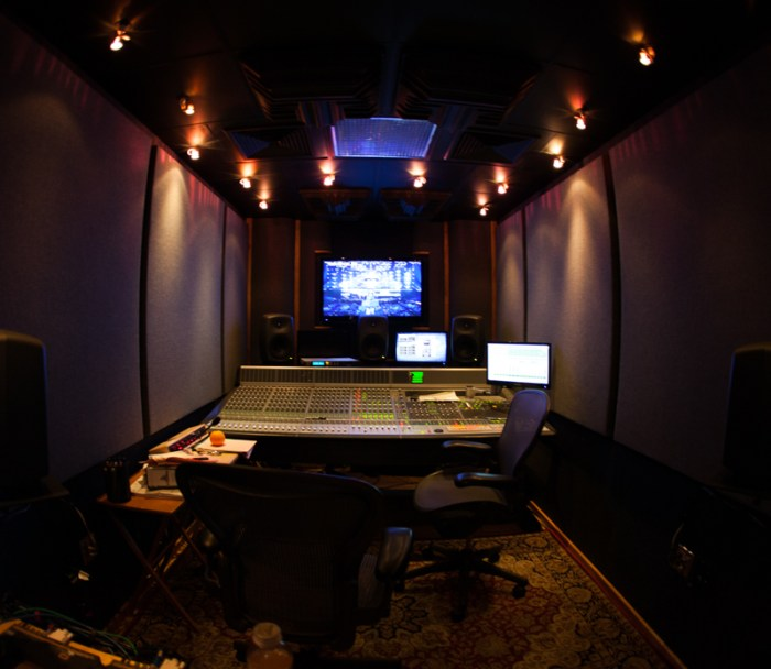Mixing Studio at the GRAMMY Awards 2013