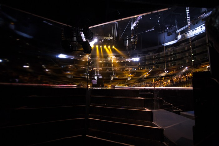 behind the scenes at the GRAMMY Awards 2013