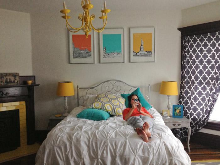 Katy in the Lemon Room