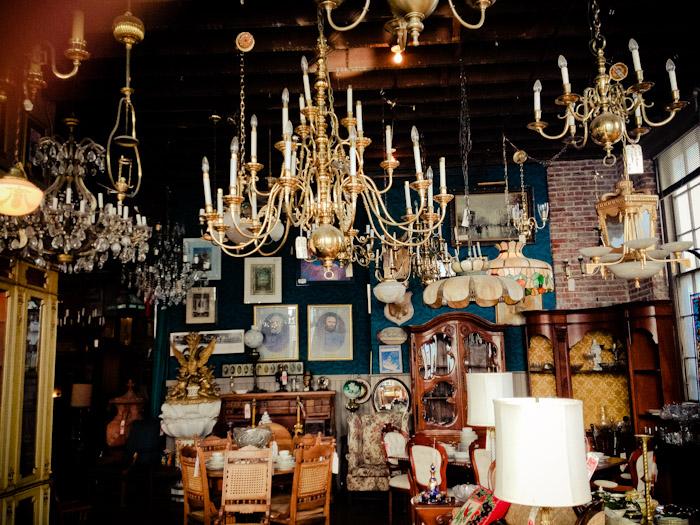 Joe Ley's Antiques in Louisville, Kentucky