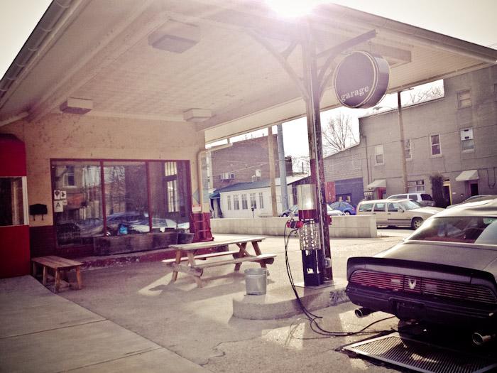 Garage at Louisville, Kentucky