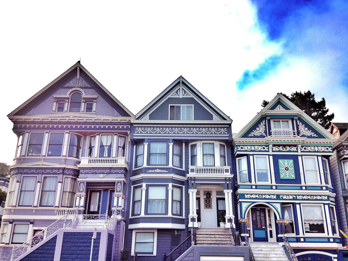 Victorians in San Francisco's Haight-Ashbury