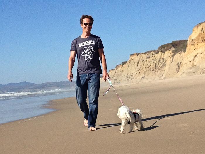 Pescadero beach in California
