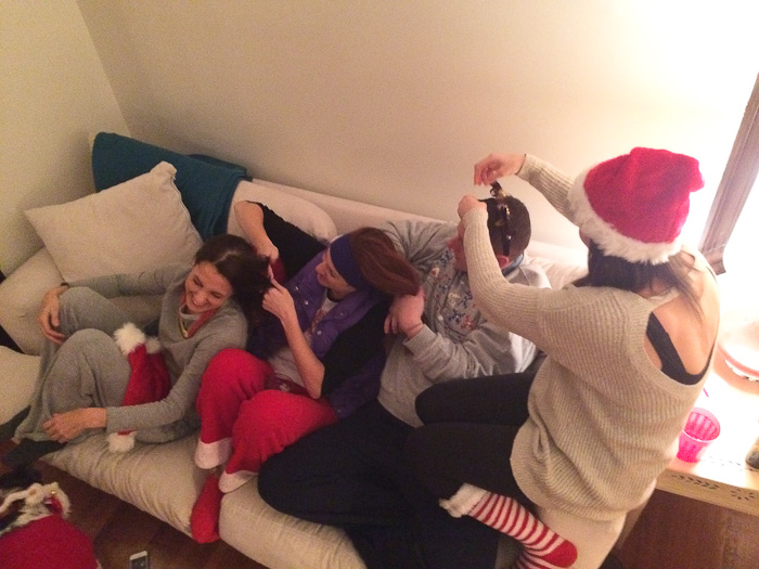 Christmas Slumber Party