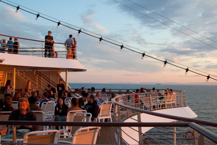 back deck of the MV Explorer