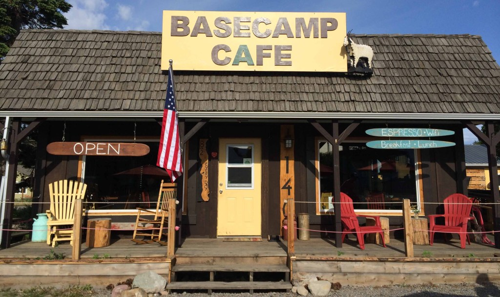 Basecamp Cafe in Montana