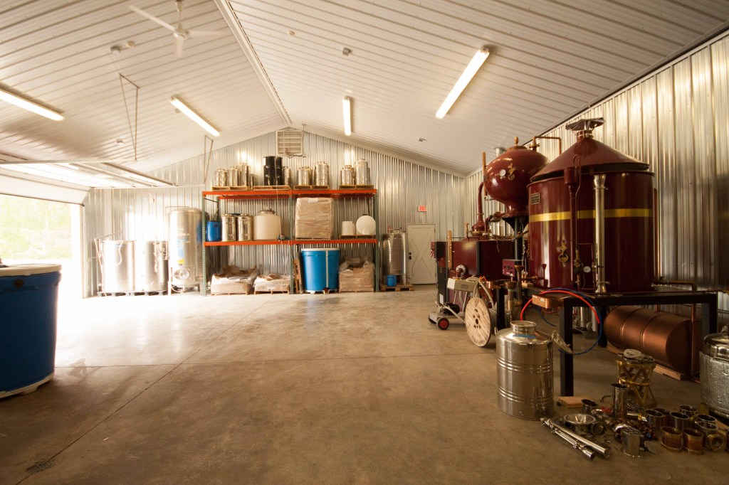 Glacier Distilling in Montana