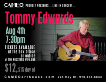 Tommy Edwards concert at the Cameo