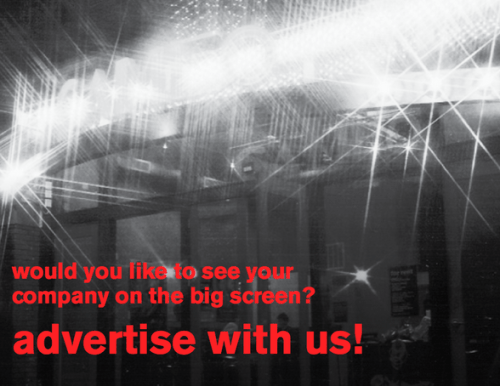 Advertise on screen with us