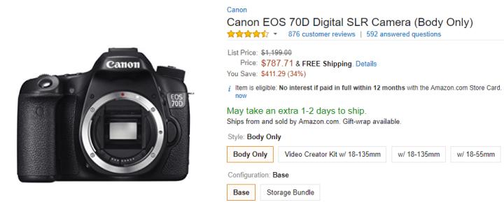 Canon Eos 70d Full Frame Or Crop | Framesite.blog
