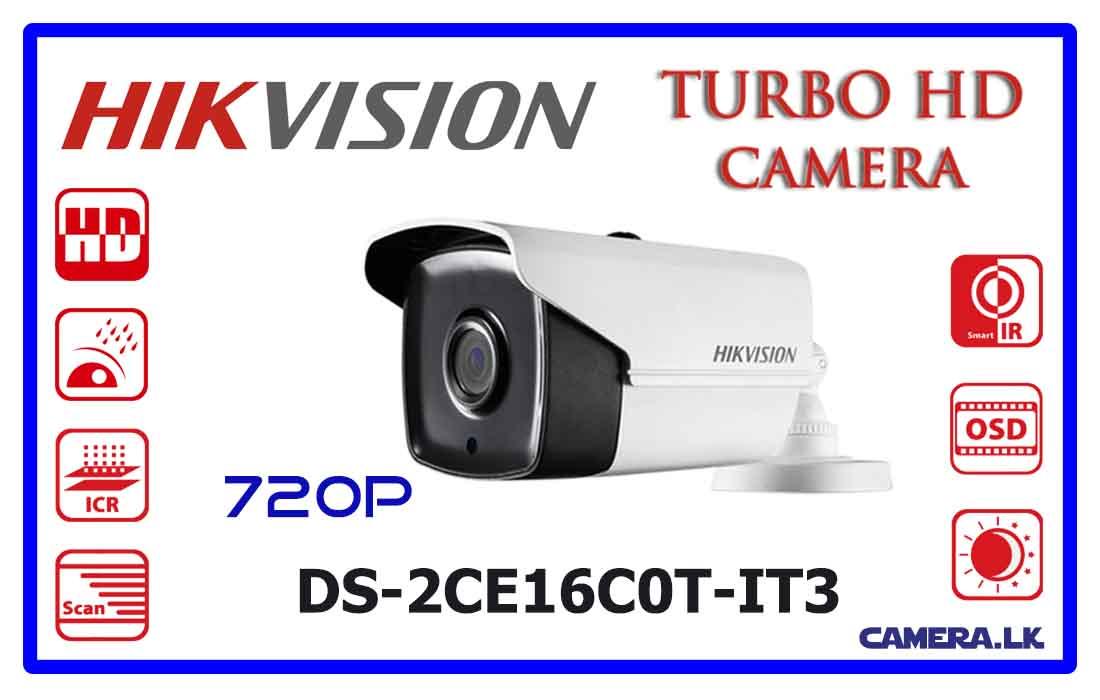 DS-2CE16C0T-IT3 - Hikvision Turbo HD Camera