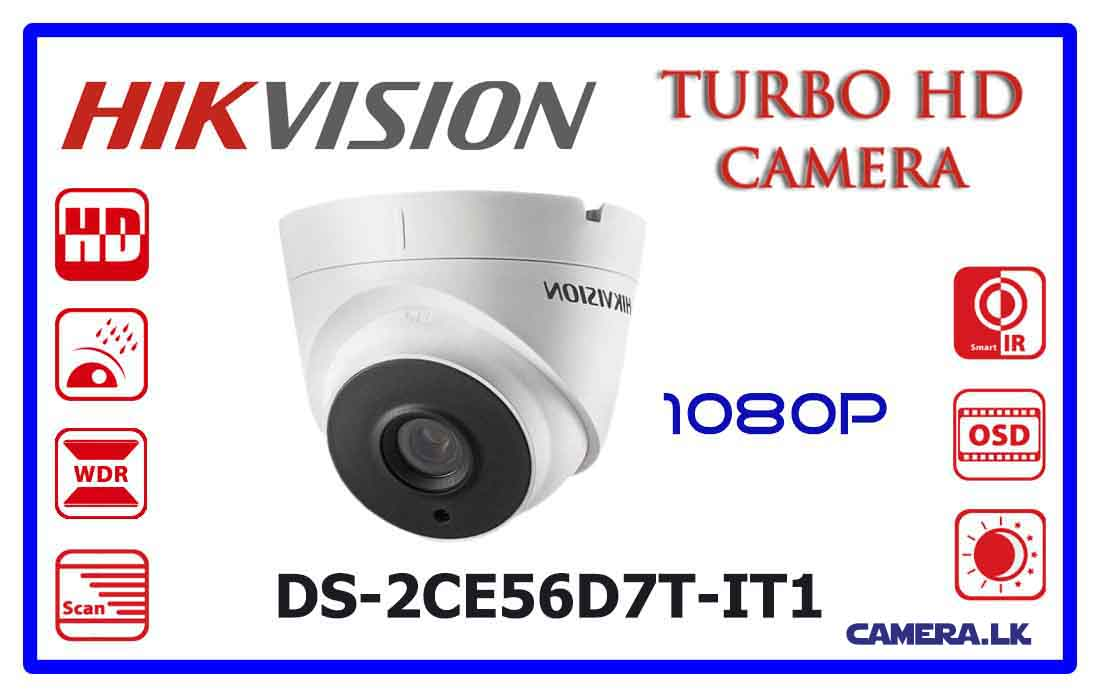 DS-2CE56D7T-IT1 - Hikvision Turbo HD Camera