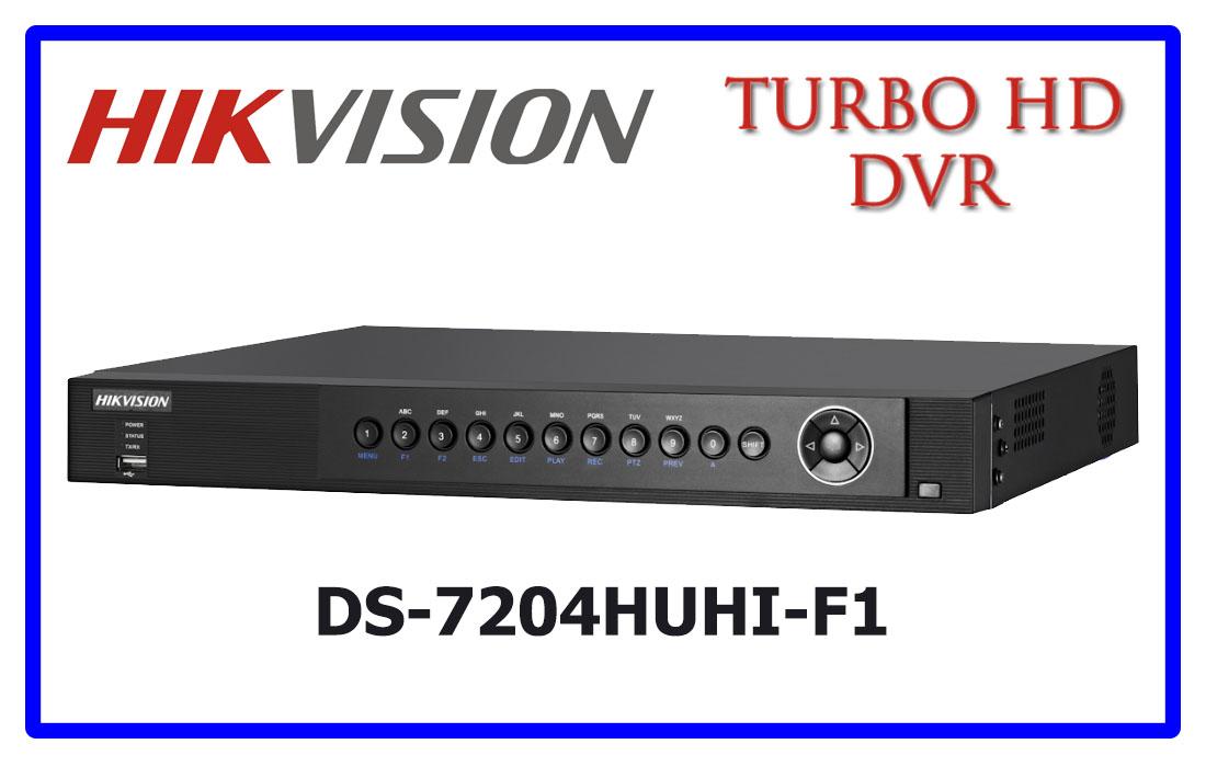DS-7204HUHI-F1 HIKVISION CCTV DVR
