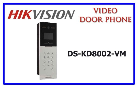 DS-KD8002-VM- Hikvision Video door phone