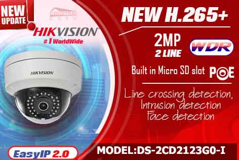DS-2CD2123GO-I - Hikvision IP Camera