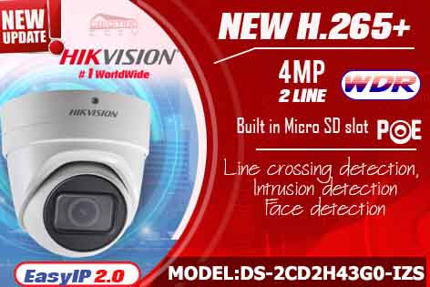 DS-2CD2H43G0-IZS - Hikvision IP Camera