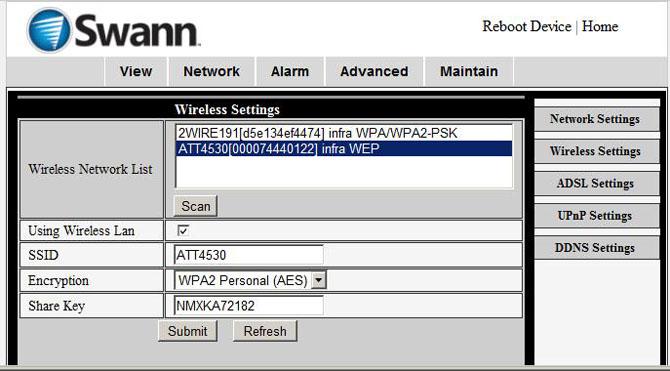 Wireless Swann Alarm System