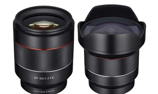 Samyang unveils 14mm f/2.8 and 50mm f/1.4 for Sony E-mount cameras