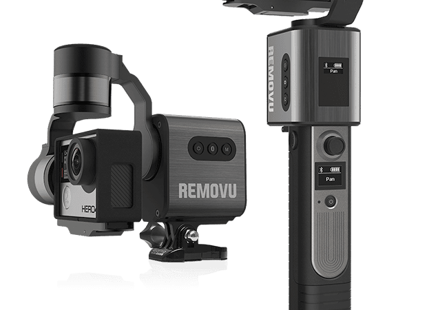 Latest preview of the Removu S1 Prototype – GoPro gimbal