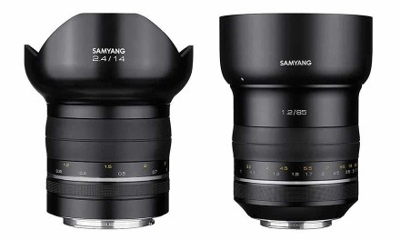 Samyang launches 85mm f/1.2, 14mm f/2.4 premium lenses