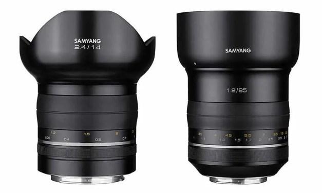 Samyang launches 85mm f/1.2, 14mm f/2.4 premium lenses
