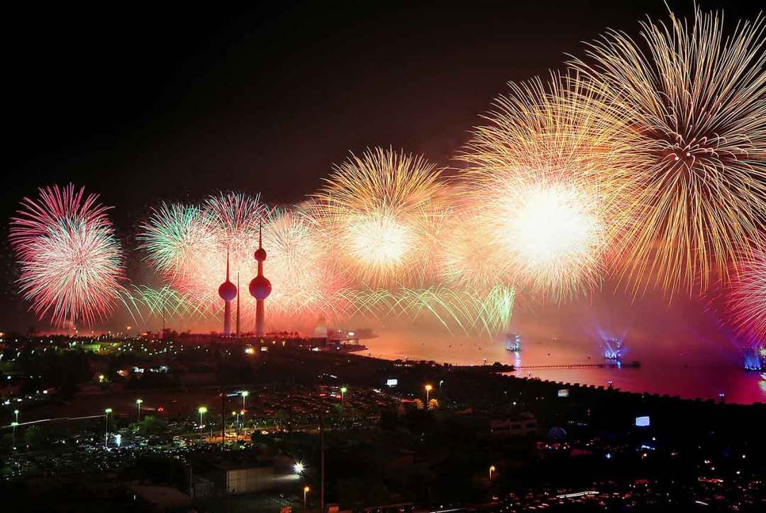 Do a recce before you photograph fireworks