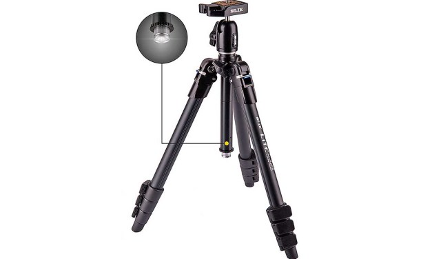 New Slik LITE Travel tripods feature built-in LED torch