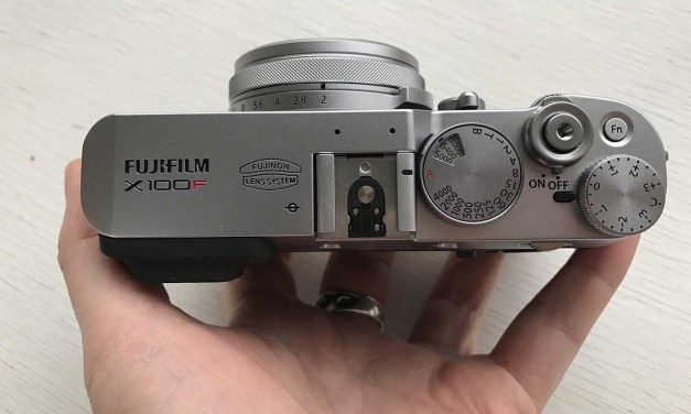 Hands-on Fuji X100F review