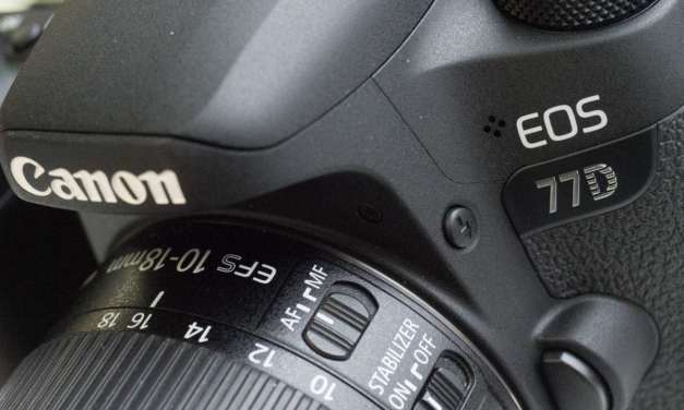 Hands-on Canon 77D review