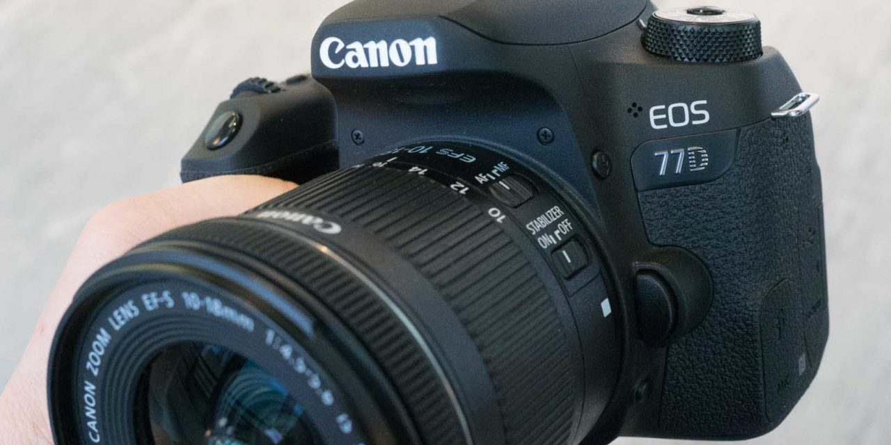 Canon 77D raw files after 5 minutes in Photoshop