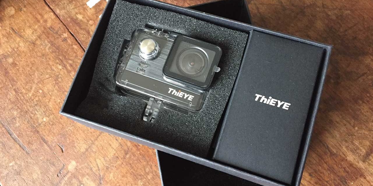ThiEYE T5e Action camera: hands on review and first impressions