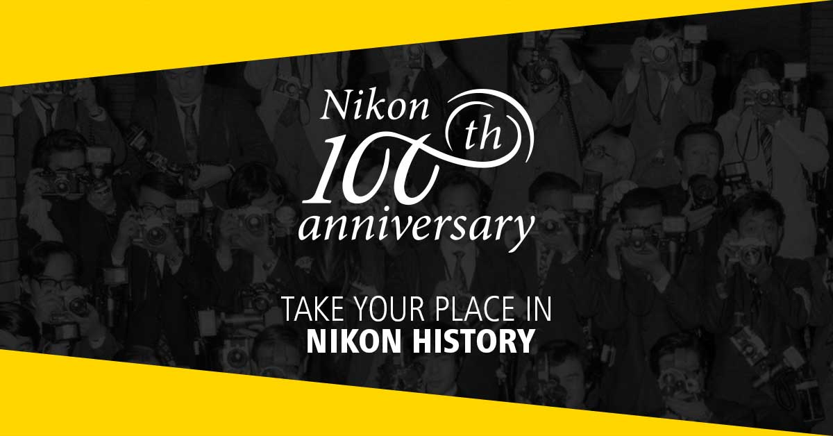 Nikon competition seeks photographers to feature in a 100th anniversary film