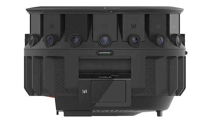 YI HALO VR camera can shoot stereoscopic video at 8K x 8K