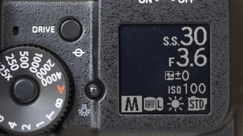 Fuji GFX 50S Review secondary screen