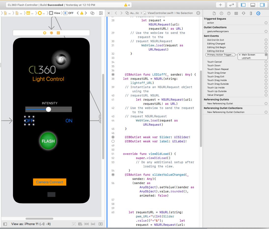 iOS App ready to go.