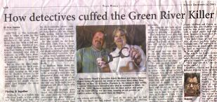 Tulsa World news story on the Green River Killer Capture