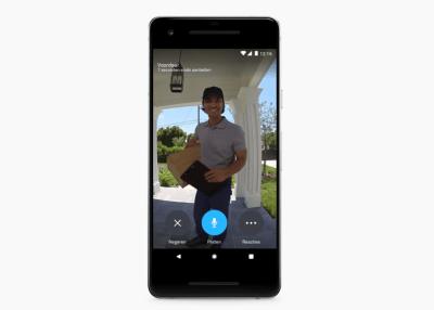 Nest hello deurbel smartphone