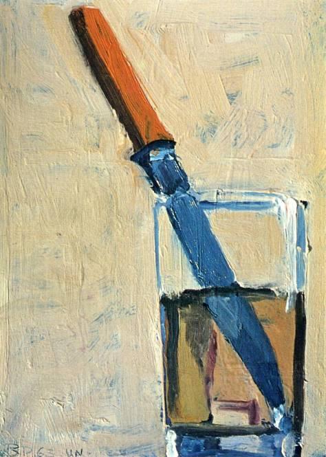 Richard Diebenkorn - Knife in a Glass, 1963