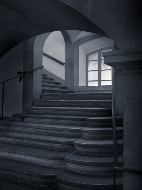 Steps, Medici Chapel, Florence, 2016 - Photograph by Jeff Curto