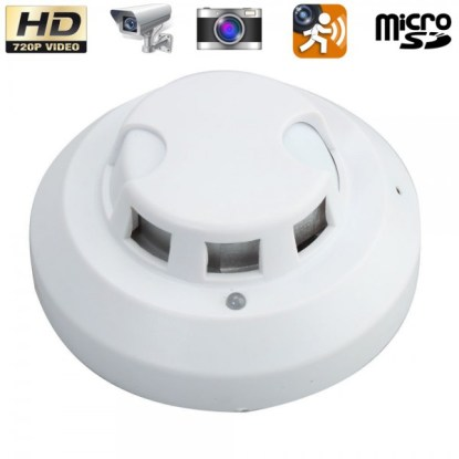 détecteur de fumée caméra