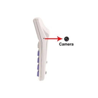 zoom sur la calculatrice caméra espion