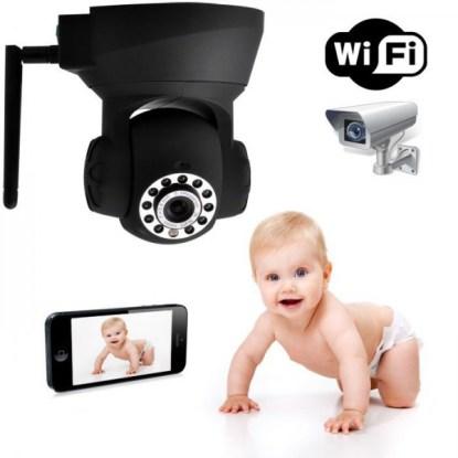Surveillez votre bébé grâce à cette caméra ip